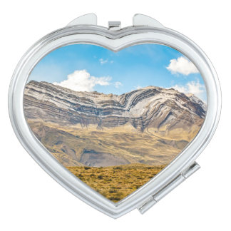 Snowy Andes Mountains Patagonia Argentina Mirror For Makeup