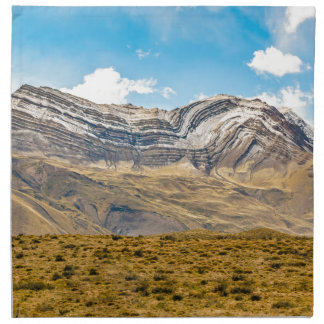 Snowy Andes Mountains Patagonia Argentina Napkin