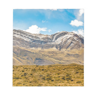 Snowy Andes Mountains Patagonia Argentina Notepad