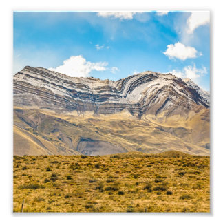 Snowy Andes Mountains Patagonia Argentina Photo Print