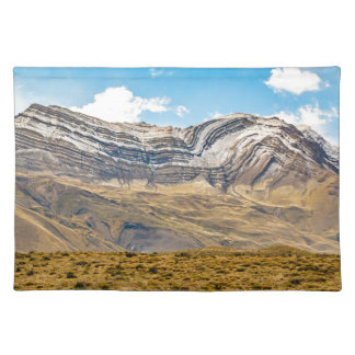 Snowy Andes Mountains Patagonia Argentina Placemat