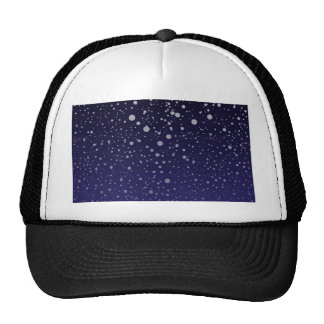 Snowy Backdrop Trucker Hat