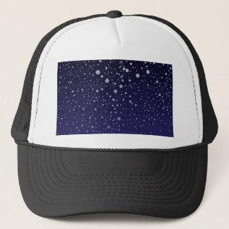 Snowy Backdrop Trucker Hat
