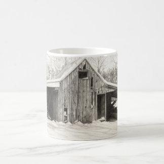 Snowy Barn Coffee Mug