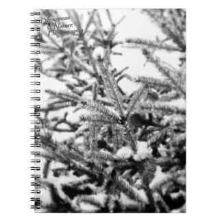 Snowy Beauty Photo Notebook (2.0)