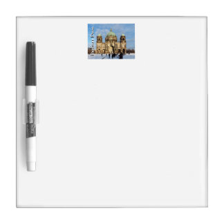 Snowy Berlin Cathedral 001.02.T Dry Erase Board
