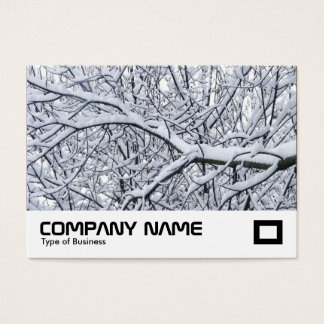 Snowy Branches Business Card