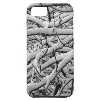 Snowy branches iPhone 5 cover