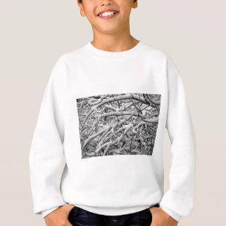 Snowy branches sweatshirt