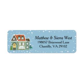 Snowy Christmas Holiday Home