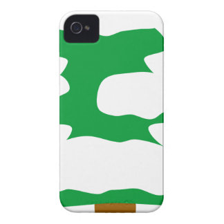 Snowy Christmas Tree iPhone 4 Cases