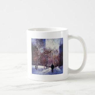 Snowy City Stroll Coffee Mug
