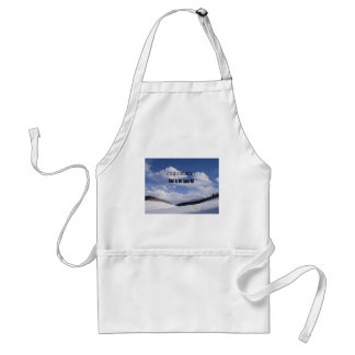 Snowy Colorado Ski Slopes Standard Apron