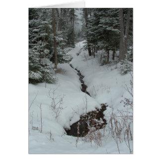 Snowy Creek Card