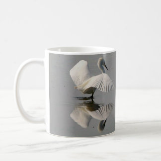 Snowy Egret Bird Dance Wildlife Animals Mug