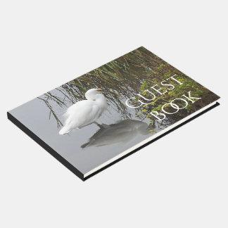 Snowy Egret Bird Wildlife Animal Coast Guest Book