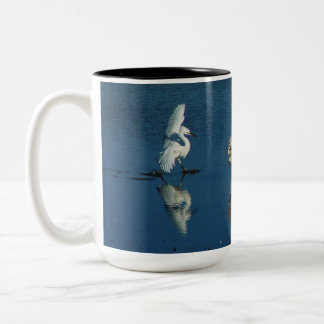 Snowy Egret Birds Wildlife Animals Mug