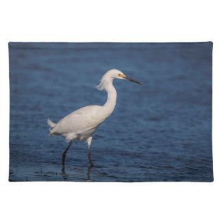 Snowy Egret on North Beach Placemat