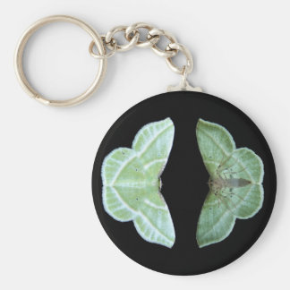 Snowy Emerald ~ keychain