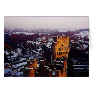 Snowy England Card