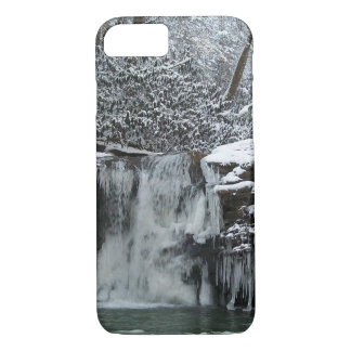 Snowy Falls Wyoming County iPhone 7 Case
