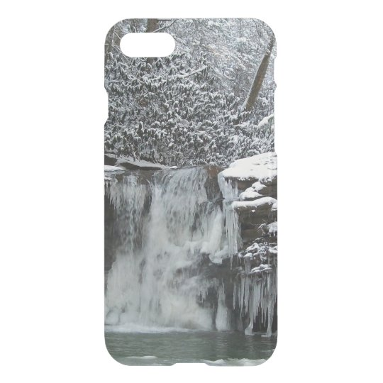 Snowy Falls Wyoming County iPhone 8/7 Case