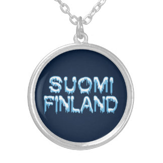 Snowy Finland necklace