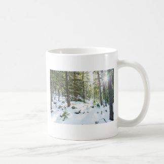 Snowy Forest Wilderness Playground Coffee Mug