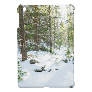 Snowy Forest Wilderness Playground Cover For The iPad Mini