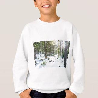 Snowy Forest Wilderness Playground Sweatshirt