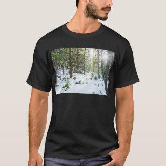 Snowy Forest Wilderness Playground T-Shirt