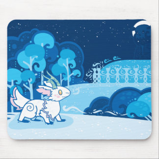 Snowy Hills Mouse Pad