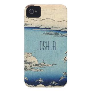 Snowy Japanese Illustration Case-Mate iPhone 4 Case