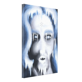 Snowy Kisses Canvas XS