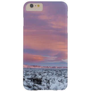 Snowy Lava field landscape, Iceland Barely There iPhone 6 Plus Case