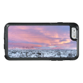 Snowy Lava field landscape, Iceland OtterBox iPhone 6/6s Case