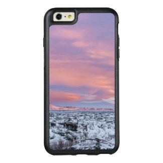 Snowy Lava field landscape, Iceland OtterBox iPhone 6/6s Plus Case