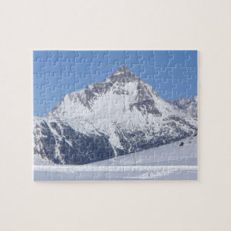 Snowy Mountain in the Austrian Alps - Puzzle