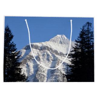 Snowy Mountain Large Gift Bag