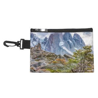 Snowy Mountains at Laguna Torre El Chalten Argenti Accessory Bags