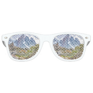 Snowy Mountains at Laguna Torre El Chalten Argenti Retro Sunglasses