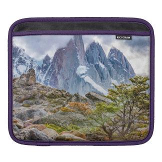 Snowy Mountains at Laguna Torre El Chalten Argenti Sleeve For iPads
