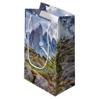 Snowy Mountains at Laguna Torre El Chalten Argenti Small Gift Bag