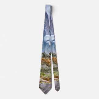Snowy Mountains at Laguna Torre El Chalten Argenti Tie