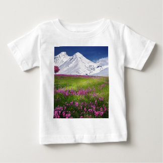 snowy mountains baby T-Shirt