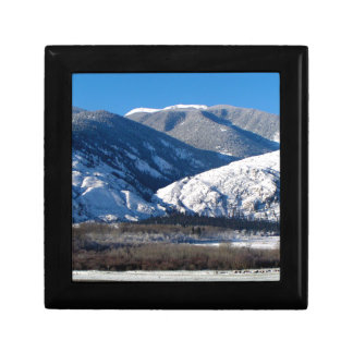 Snowy Mountains in BC Canada Gift Box