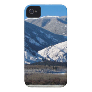 Snowy Mountains in BC Canada iPhone 4 Case-Mate Case