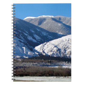 Snowy Mountains in BC Canada Notebooks