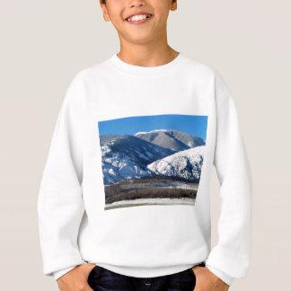 Snowy Mountains in BC Canada Sweatshirt