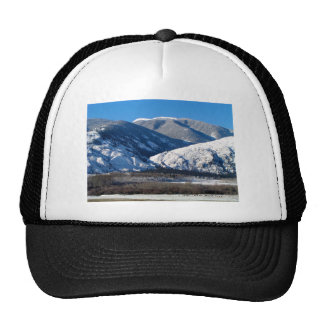 Snowy Mountains in BC Canada Trucker Hat